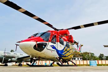 J4049 - India - Air Force: Sarang Display Team Hindustan Dhruv