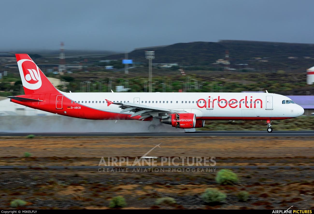 Air Berlin D-ABCB aircraft at Tenerife Sur - Reina Sofia