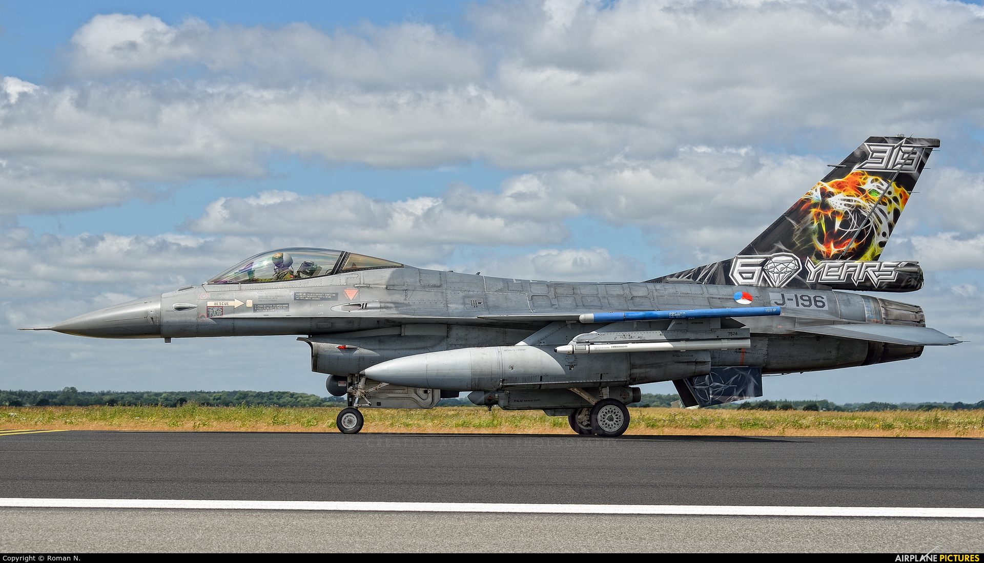 Netherlands - Air Force J-196 aircraft at Schleswig-Jagel