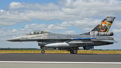 J-196 - Netherlands - Air Force General Dynamics F-16A Fighting Falcon