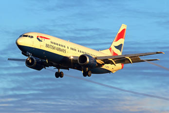 G-GBTB - British Airways Boeing 737-400
