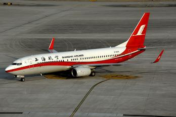 B-5610 - Shanghai Airlines Boeing 737-800