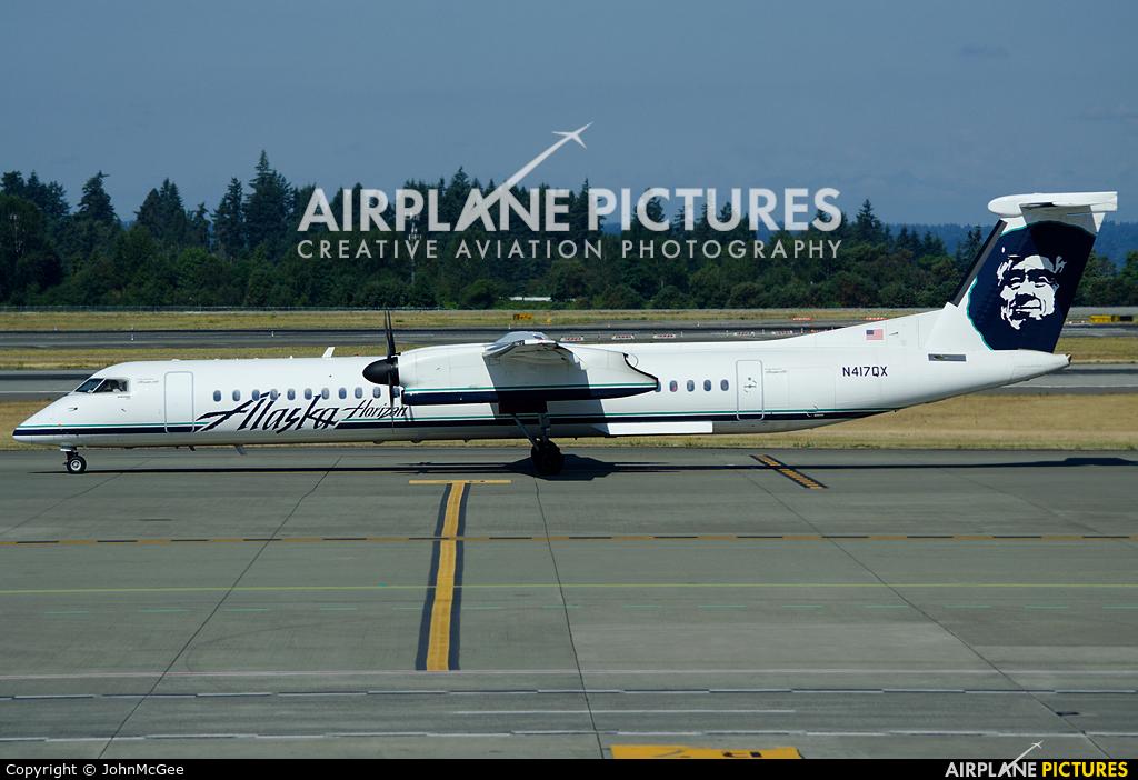 Alaska Airlines - Horizon Air N417QX aircraft at Seattle-Tacoma Intl