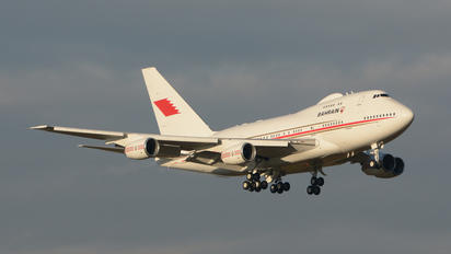 A9C-HAK - Bahrain Amiri Flight Boeing 747SP