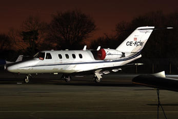 OE-FCW - Private Cessna 525 CitationJet