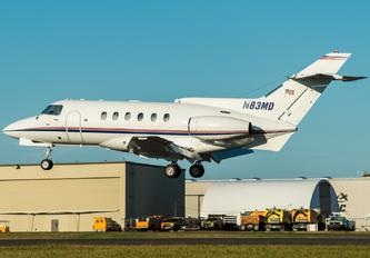 N83MD - Private Hawker Siddeley HS.125-700A