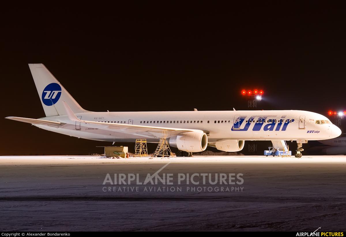 UTair VQ-BEY aircraft at Novokuznetsk - Spichenkovo