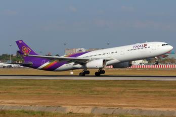 HS-TBF - Thai Airways Airbus A330-300
