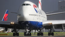G-CIVA - British Airways Boeing 747-400 aircraft