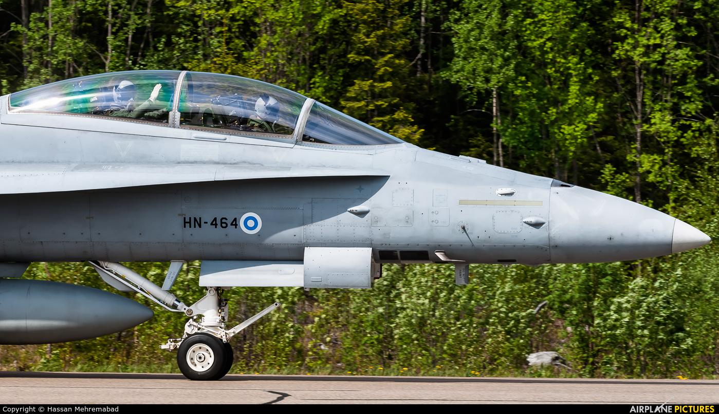 Finland - Air Force HN-464 aircraft at Off Airport - Finland