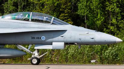 HN-464 - Finland - Air Force McDonnell Douglas F-18D Hornet