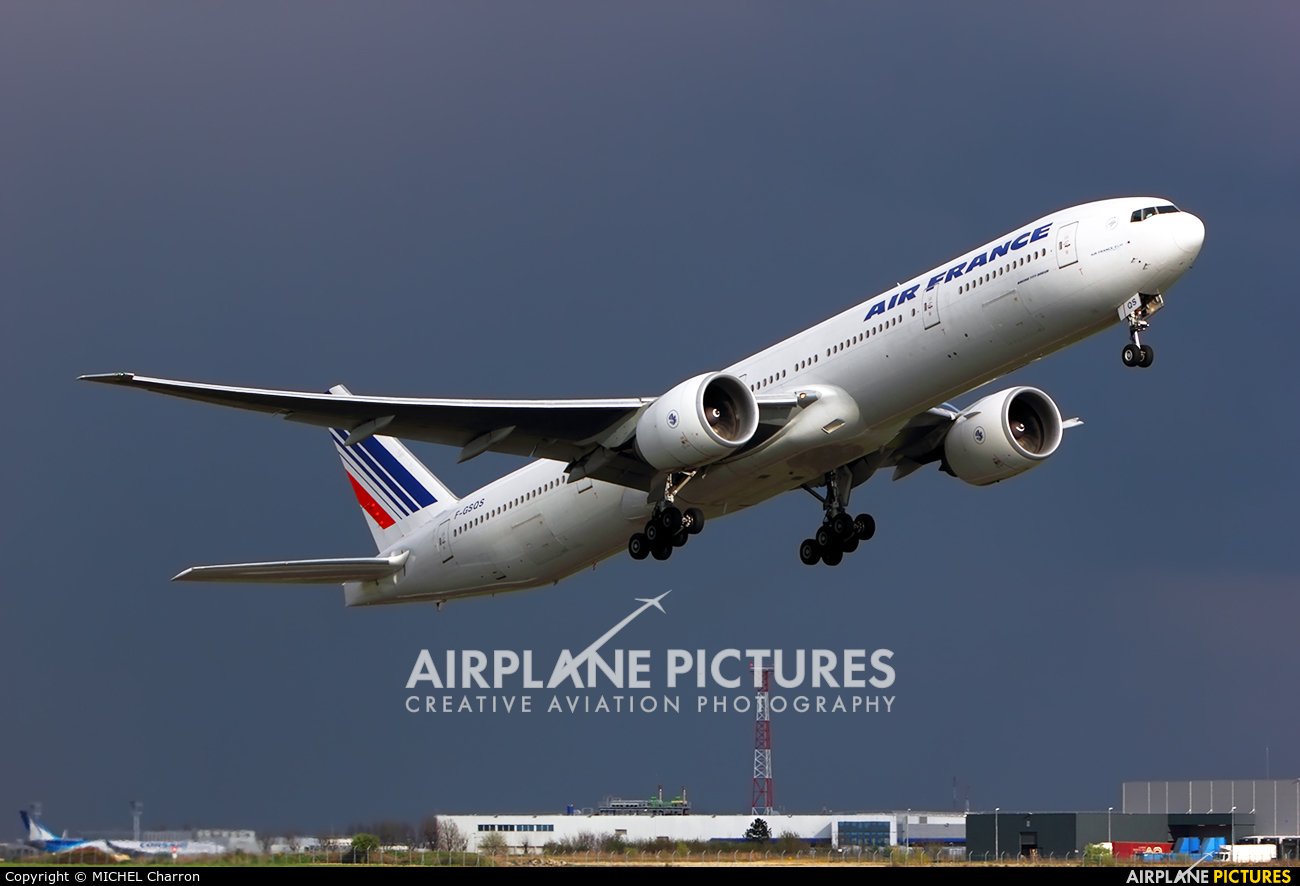 Air France F-GSQS aircraft at Paris - Orly