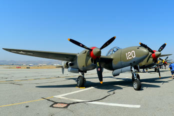 NL38TF - Private Lockheed P-38 Lightning