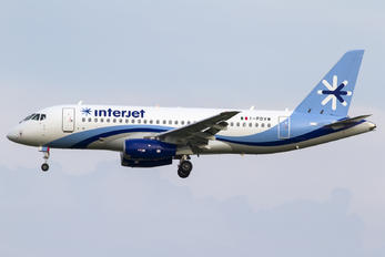 I-PDVW - Interjet Sukhoi Superjet 100