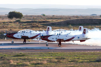400 - Israel - Defence Force Beechcraft T-6 Texan II
