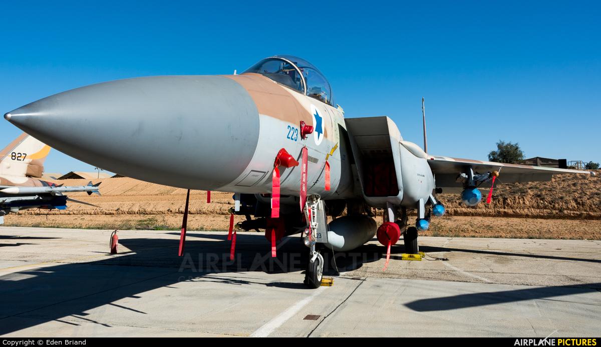 Israel - Defence Force 223 aircraft at Beersheba - Hatzerim