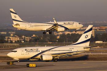 4X-EKE - El Al Israel Airlines Boeing 737-700