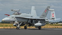 J-5020 - Switzerland - Air Force McDonnell Douglas F/A-18C Hornet aircraft