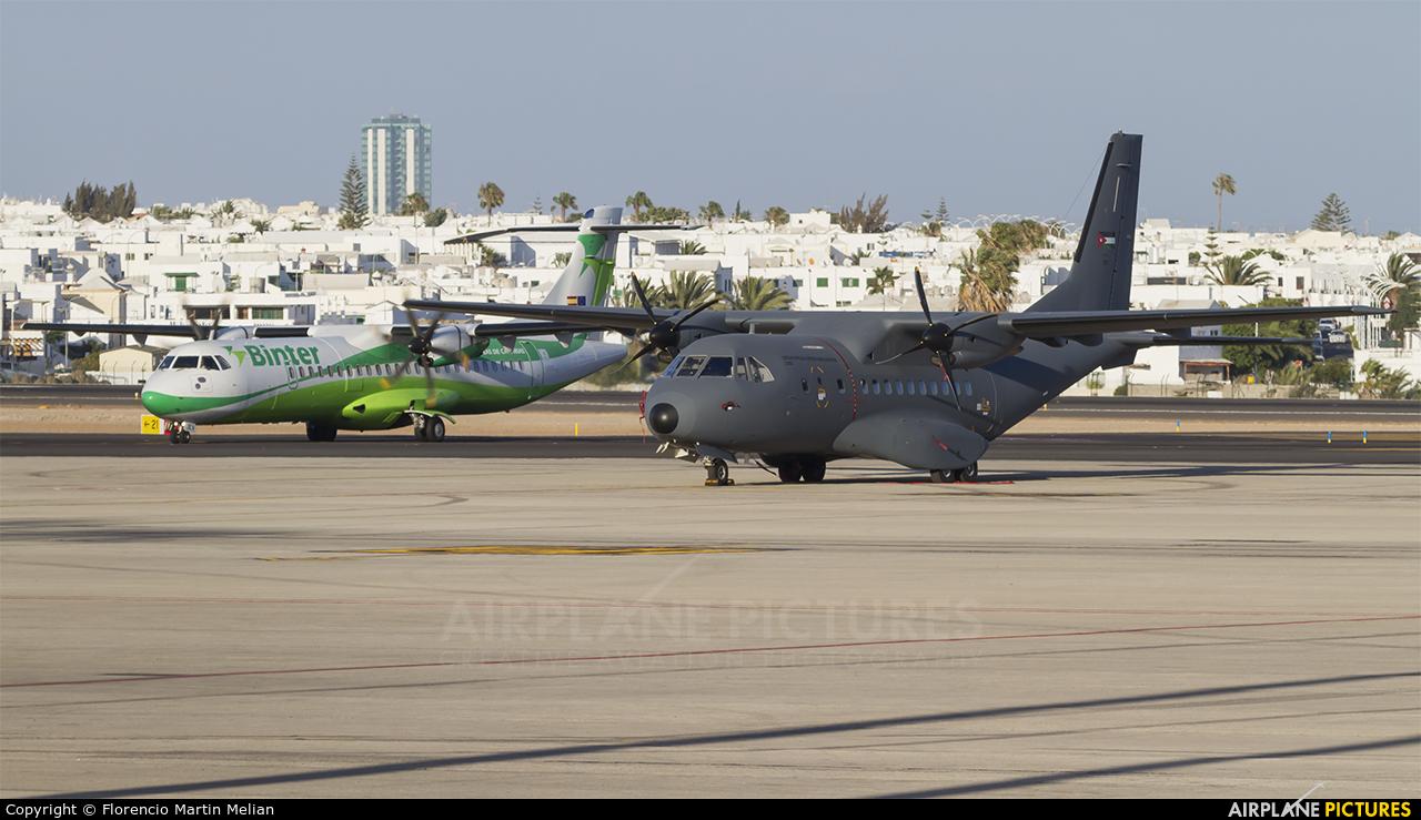 Jordan - Air Force 3210 aircraft at Lanzarote - Arrecife