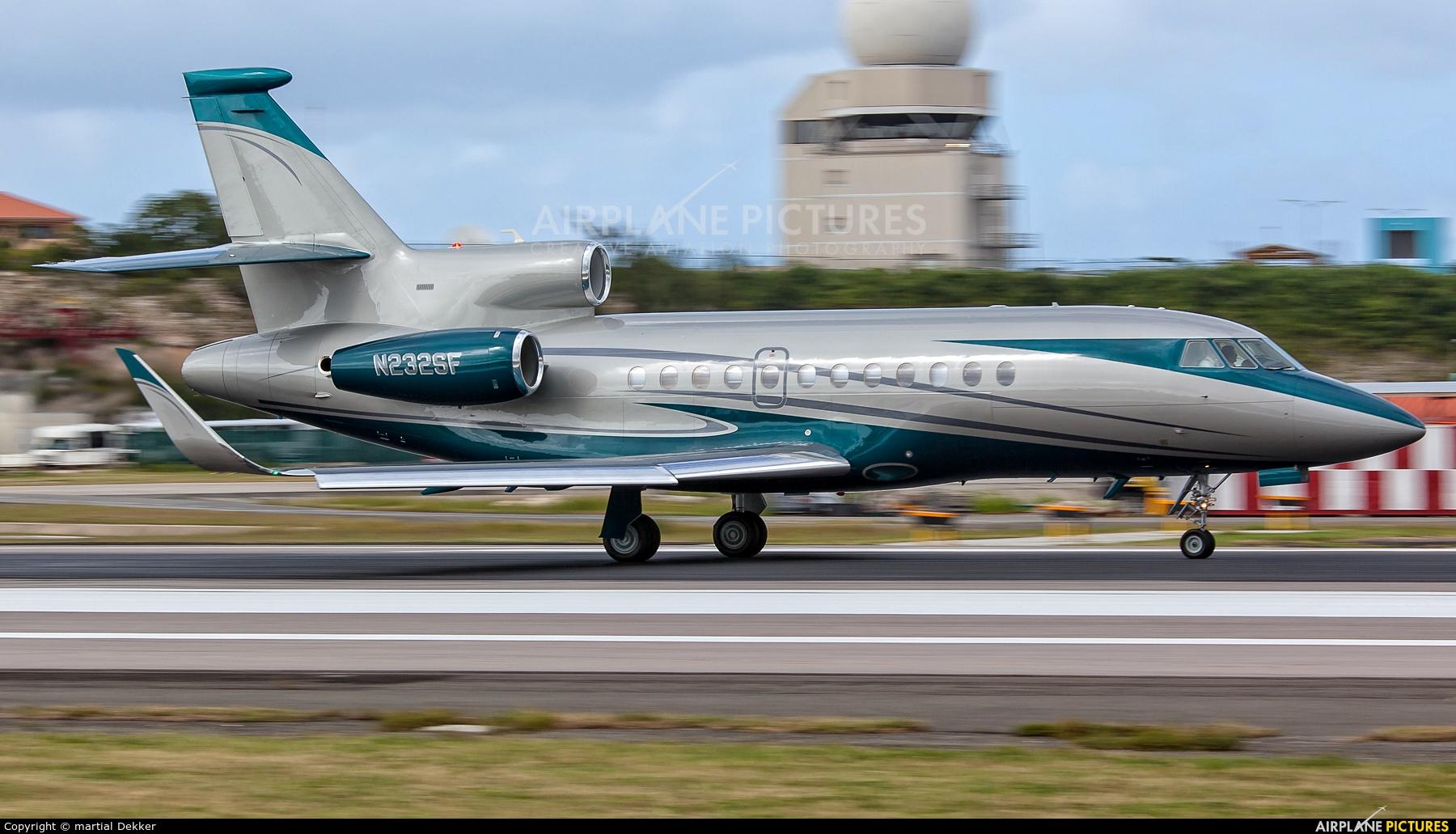Private N232SF aircraft at Sint Maarten - Princess Juliana Intl