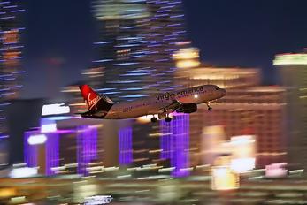 N361VA - Virgin America Airbus A320