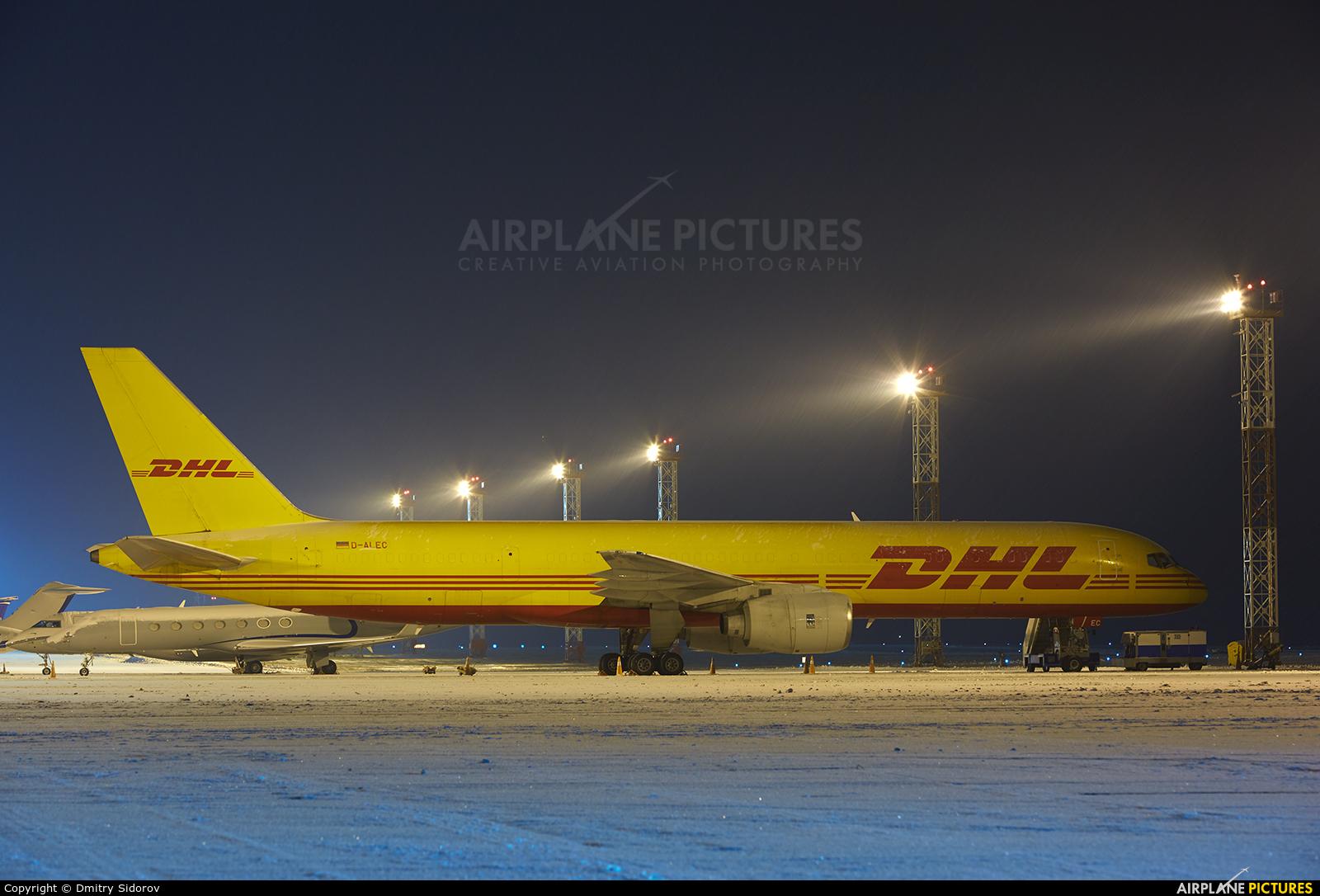 DHL Cargo D-ALEC aircraft at Kiev - Borispol