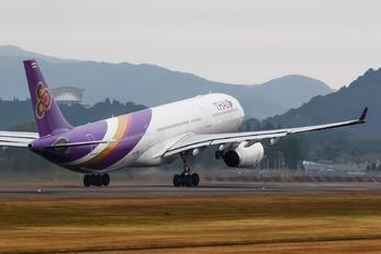 HS-TEQ - Thai Airways Airbus A330-300