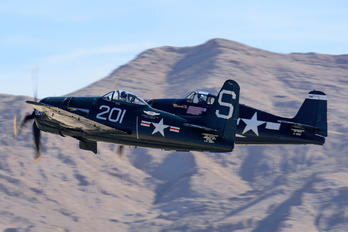 N7825C - American Airpower Heritage Museum (CAF) Grumman F8F Bearcat