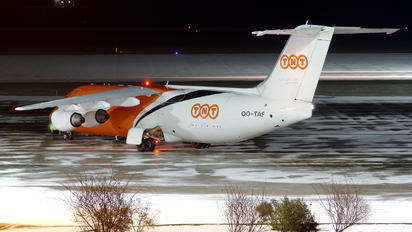 OO-TAF - TNT British Aerospace BAe 146-200/Avro RJ85-QT Quiet Trader
