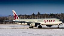 A7-BAS - Qatar Airways Boeing 777-300ER aircraft