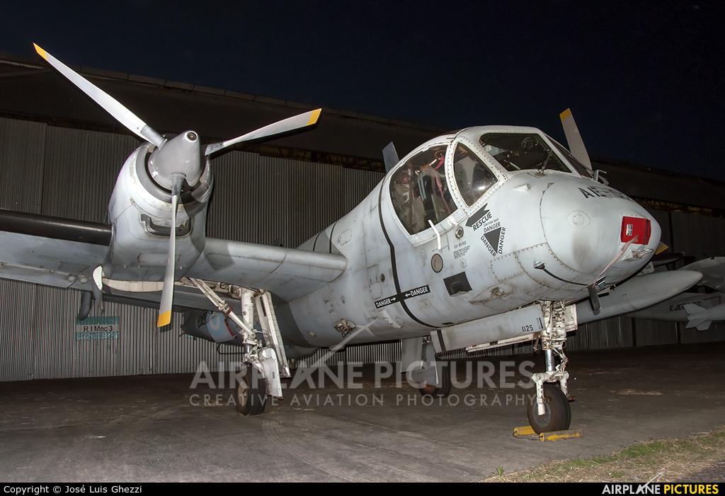 Argentina - Army AE-025 aircraft at Campo de Mayo