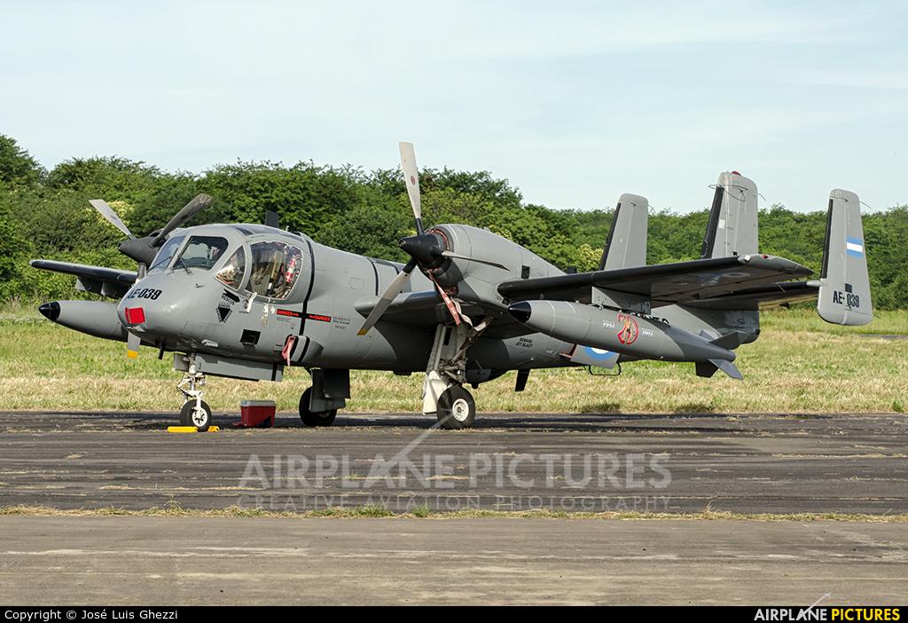 Argentina - Army AE-039 aircraft at Campo de Mayo