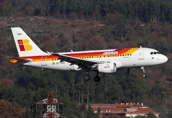 EC-KBX - Iberia Airbus A319