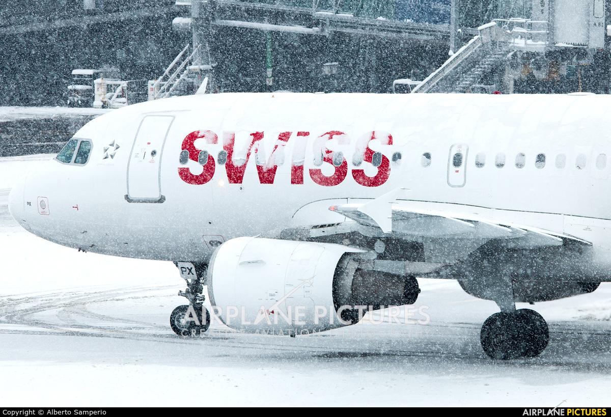 Swiss HB-IPX aircraft at Zurich