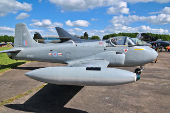 XP672 - Royal Air Force BAC Jet Provost T.4