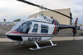 N40YB - Private Bell 206B Jetranger