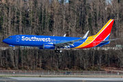 N8654B - Southwest Airlines Boeing 737-800 aircraft