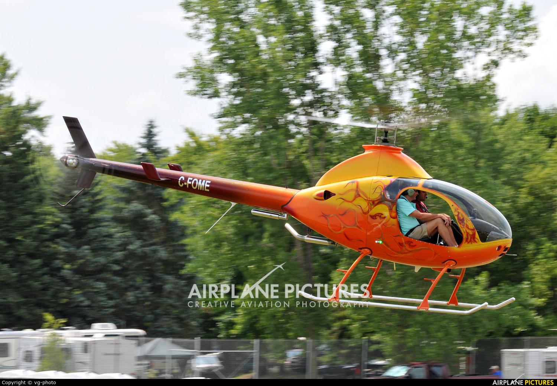Private C-FOME aircraft at Oshkosh - Wittman Regional