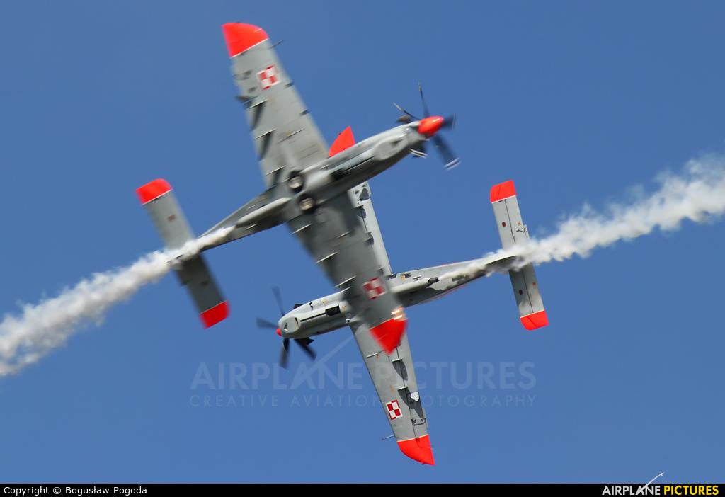 "Poland - Air Force ""Orlik Acrobatic Group"" 025 aircraft at Hradec Králové"