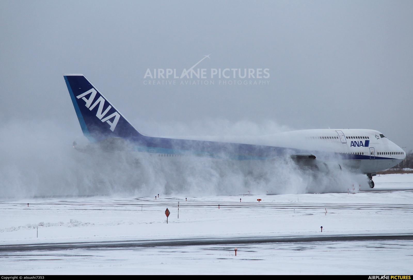 ANA - All Nippon Airways JA8966 aircraft at New Chitose