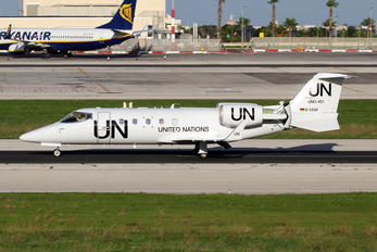 D-CFAF - United Nations Learjet 60