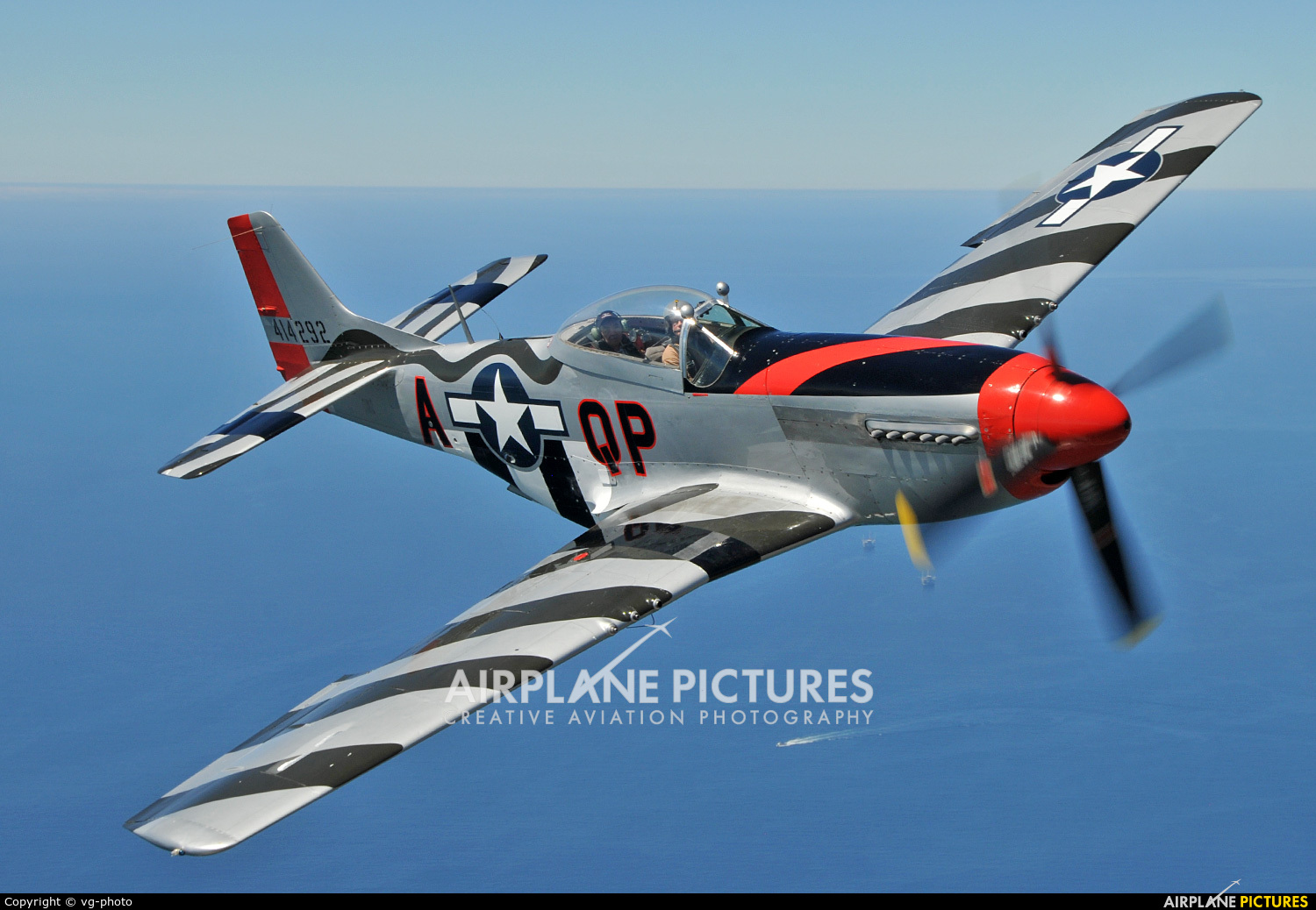 American Airpower Heritage Museum (CAF) NL44727 aircraft at In Flight - California