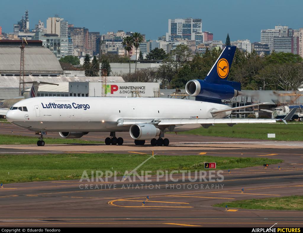Lufthansa Cargo D-ALCK aircraft at Porto Alegre - Salgado Filho
