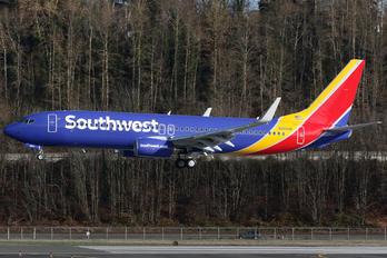 N8654B - Southwest Airlines Boeing 737-800