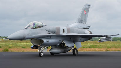4040 - Poland - Air Force Lockheed Martin F-16C Jastrząb