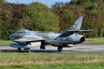 J-4003 - Switzerland - Air Force Hawker Hunter F.58