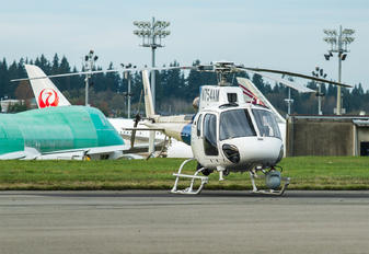 N754AM - USA - Dept. of Homeland Security Eurocopter AS350 Ecureuil / Squirrel
