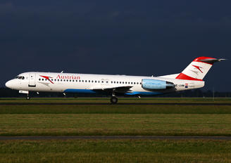 OE-LVM - Austrian Airlines/Arrows/Tyrolean Fokker 100