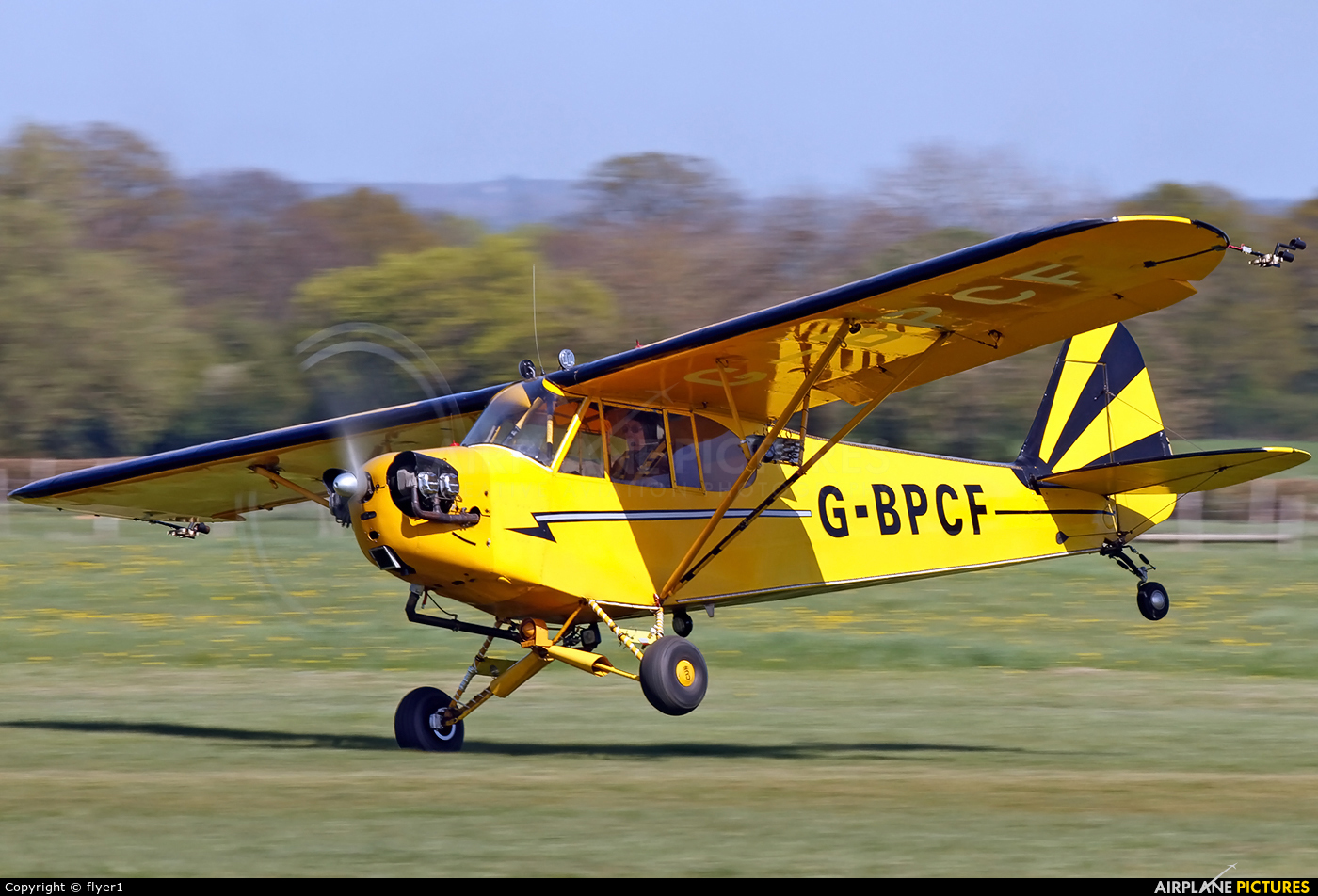 Private G-BPCF aircraft at Lashenden / Headcorn