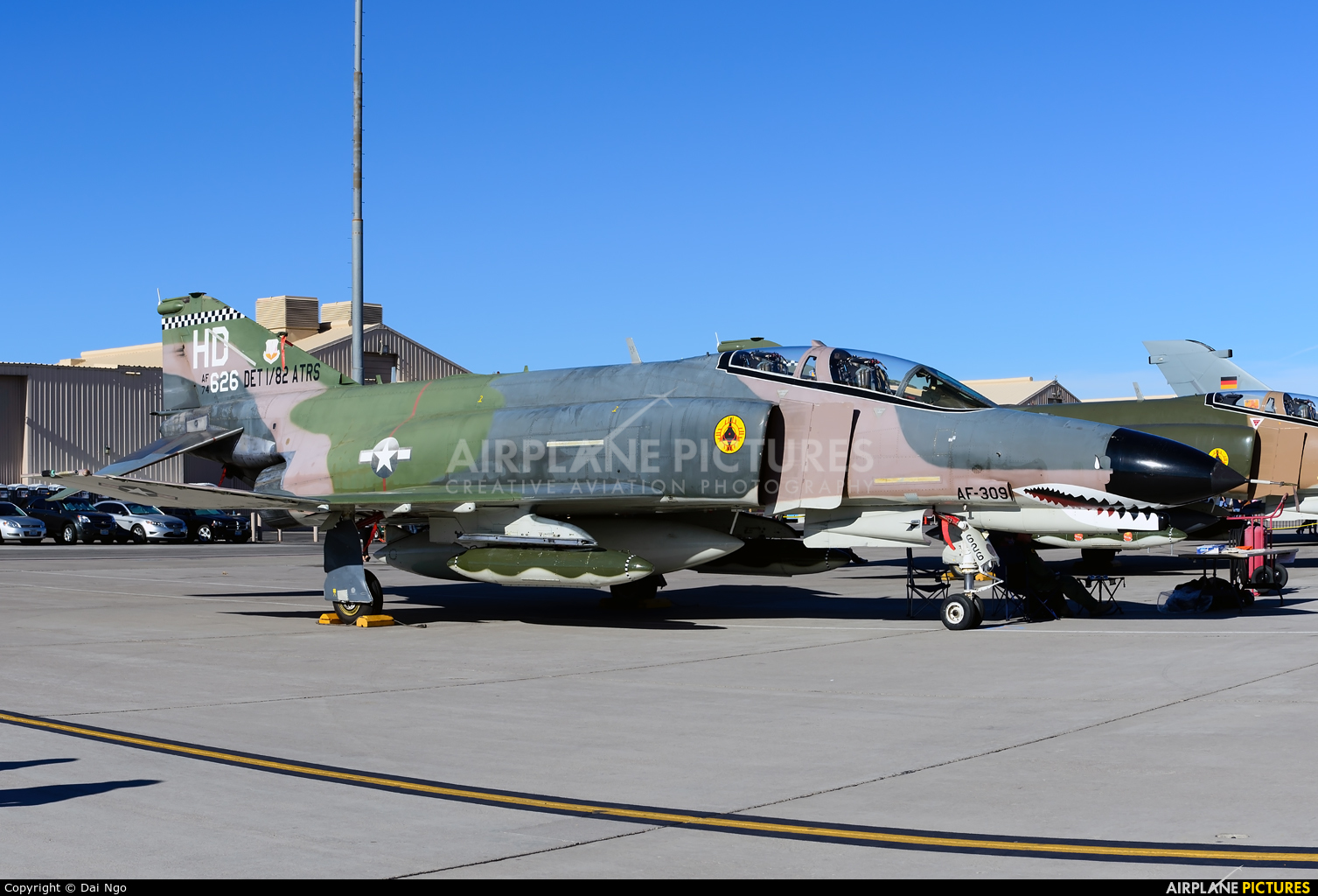 USA - Air Force 74-0626 aircraft at Nellis AFB